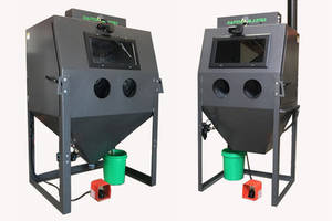 Latest Slurry Wet Blast Cabinets from Raptor are Built from 12-Gauge Steel