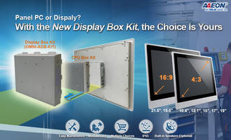 New Display Box Kit from AAEON Allows Users to Convert Panel PCs into Digital Displays