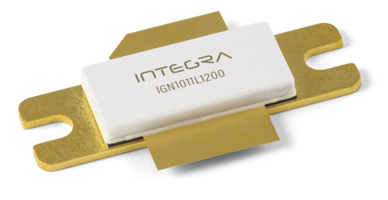 New IGN1011L1200 L-Band Avionics Transistor Offers a Gain of More Than 17 dB