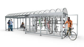 Handi-Hut's Combination Bus/Bike Shelters Provide Missing Link to Multi-Modal Transportation