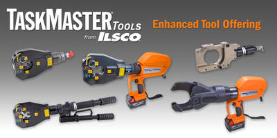 ILSCO launches 6-ton Hand Operated Hydraulic TaskMaster Tools