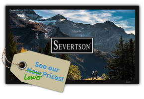 Severtson Screens Lowers Home Theater Screen Prices; Affected Lines Showcased at CEDIA Expo 2018