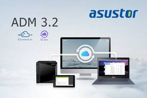 ASUSTOR Releases Latest ADM 3.2 Software That Allows Remote Data Synchronization