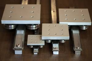 Double Track Linear Guides Offer Compact Design with Robust Load Capacity