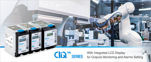 New CliQ VA Series is Offered in Three Different Power Ratings