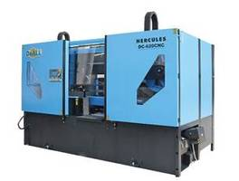 New DC-620CNC Hercules II Dual Column, Ball Screw Saw from DoALL Features Ball Screw Technology