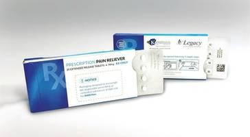 The Ecoslide-RX Prescription Blister Package's Updated Design Helps to Prevent Drug Overdose