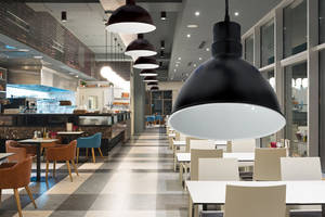 New LED Pendant Shades from Nora Lighting Feature Built-in Dimmable Drivers