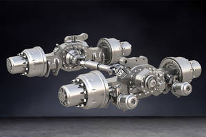 New Meritor P600 Series Planetary Axles Can be Configured for Use with Central Tire Inflation Systems