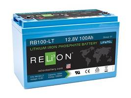 Latest RB100-LT Battery is Suitable for Low-Temperature Applications