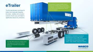 Electric Trailer from WABCO Improves Operating Efficiency