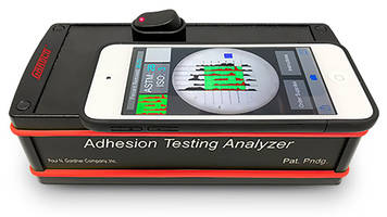 New Adhesion Test Analyzer Can Share the Test Results Electronically