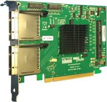 Latest HIB68-x16 Gen 4 PCIe Cable Adapter Comes with four SFF-8644 Cable Connectors