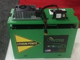 Navitas Systems Selects Delta-Q Technologies' IC1200 Charger for Its Newest Lithium Forklift Battery Pack, the 24 Volt Starlifter-AC™