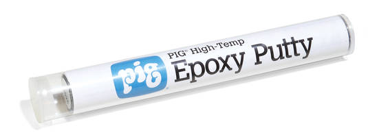 Latest PIG High-Temp Epoxy Putty is Composed of Premeasured Base and Activator