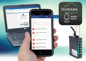 New StrideLinx Cloud Notify License Provides Remote Emails and Notifications