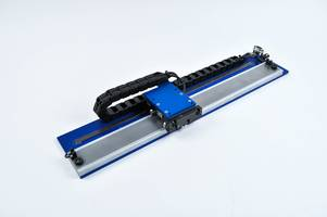 New Linear Stepper Positioning Stage Can Operate as a 2-Phase Brushless Linear Motor