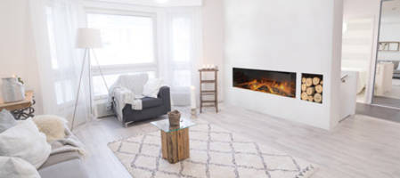 European Home Introduces New Electric Modern Line of Flameless Electric Fireplaces