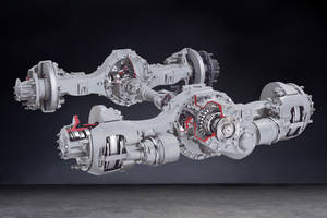 New Front Drive Steer and Tridem Rear-Drive Axles Come with Proportioning Inter-Axle