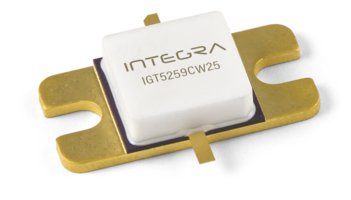 Integra Releases IGT5259CW25 Transistor for C-Band CW Radar Applications