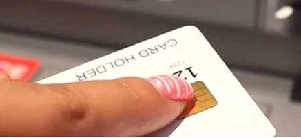 New Cyber-Security and Access ID Biometric Card is Activated By Fingerprint of the Person