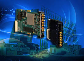 Latest Model 71141 and 71851 XMC Modules Provide Time-Stamped Digitized Data