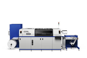 New SurePress L-6034VW Label Press Features PrecisionCore Linehead