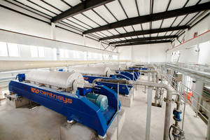The Centrisys/ CNP THK Sludge Thickener Improves Municipal and Industrial Wastewater Applications