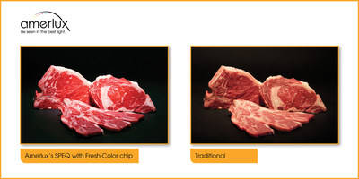 New Color Chip by Amerlux Accentuates the Natural Color of Fresh Food
