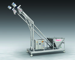 Flexicon Offers Twin BEV-CON Screw Conveyor System with Capacity to Fill Two Vessels Simultaneously