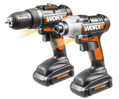 Latest WORX 20V 2-Piece Combo Kit Provides Easy Access in Tight Spaces