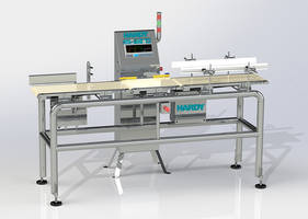 New CIP Series Dynamic Checkweighers from Hardy Use Wide Area Networking Connectivity
