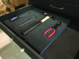 Visual Workplace Offers Do-It-Yourself Foam Tool Shadow Kits with 4 lb. Cross-Link, Closed-Cell Foam