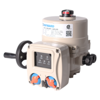 New HRS Series Electric Actuators from Hayward Flow Control Feature Integrated Local Control (LCS) Stations