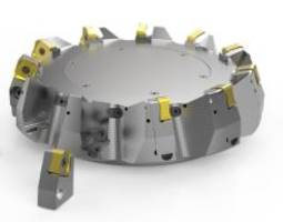 New Double Quattromill 22 Face Milling Cutter Features Surface Texture Technology