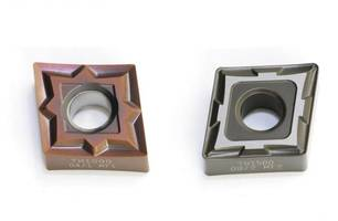 Turning Insert Grades Provide Edge Toughness and Chip Resistance