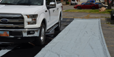 Latest Hydromat Water Collection Mat is Constructed Using Vinyl Coated Fabric
