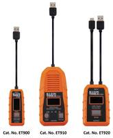 Klein Presents Latest USB Digital Meters and Testers That Offer Continuous Monitoring Up to 1000 hrs