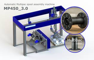 Windak Offers MP450_3.0 Automatic Spool Assembly Machine with 3 Spools per Minute Production