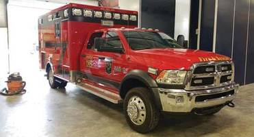 Accudraft Booths Offer Enough Space to Repair Ambulances
