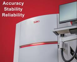 Latest 3Di Automated Optical Inspection System from Saki Features Dual-Drive System