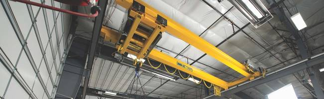 R&M Overhead Crane Solution for Forestry Equipment Dealership