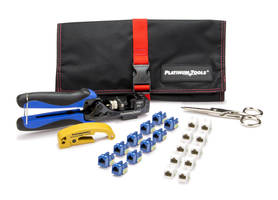 New Xpress Jack Termination Kit by Platinum Tools Make Keystone Jack Terminations Easier