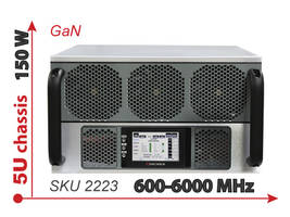 Latest Model 2223 GaN System Amplifier Offers Touchccreen or Remote Monitoring Options