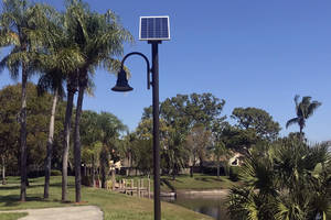 Gardens of Woodberry Solar Walkway Lighting