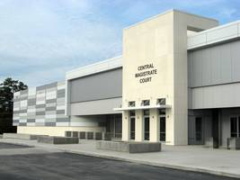 Former Strip Mall is Transformed into Central Courts Facility with CENTRIA Panels