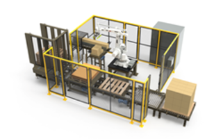 New RPX Series Configurable Robotic Palletizing Cells are Rated Up to 14 Cases Per Minute
