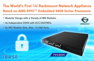 New FWA8800 Network Appliance by IBASE Technology Features