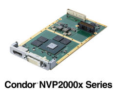 New NVP2000x XMC Graphics/GPGPU Cards Come with H.265/H.264 Hardware Encode/Decode Capability