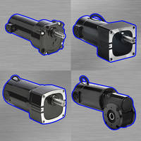 New Gearmotors Feature a Rated Maximum Armature Speed of 2500 RPM